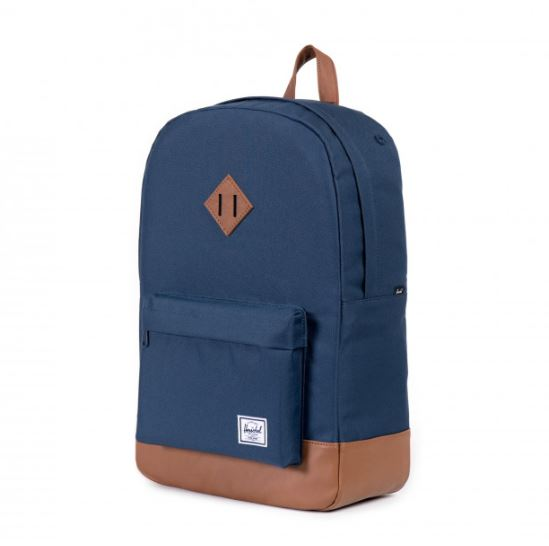 Herschel Heritage Navy/Tan Synthetic Leather