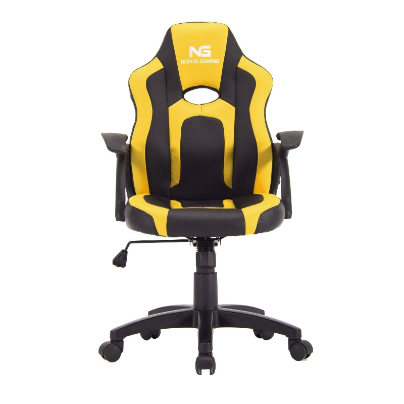 Nordic Gaming Little Warrior Gamer Stol Black Yellow | In